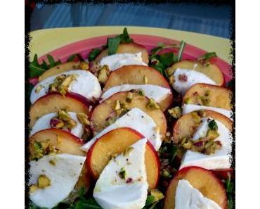 Pfirsich-Rucola-Salat [Vegetarisch kochen]
