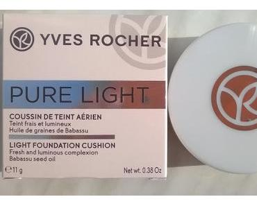Yves Rocher Pure Light Cushion Foundation Rose 200 + Yves Rocher Lidschatten-Fixierbasis :-)