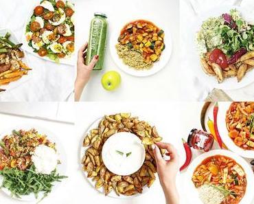 6 Lunch Ideen | gesund, schnell, lecker