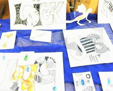 Beruhigend und cool zugleich: Zentangle für Kinder