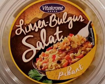 LIDL - Vitakrone Linsen-Bulgur Salat pikant