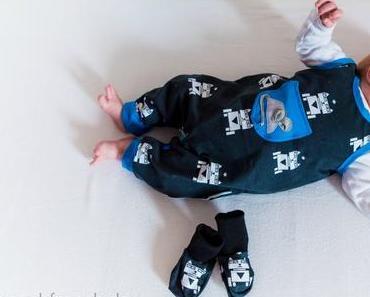 Astromaus auf Baby