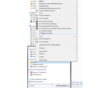 Das Windows Startmenü – der Standard Windows Keystroker – wichtige Dinge nur ein paar Tastenanschläge entfernt – wie man häufig gesuchte Dinge schneller findet