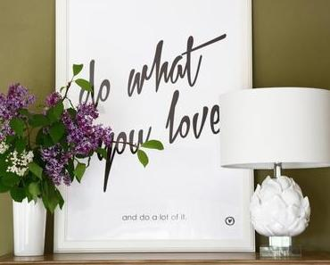 Do what you love + Verlosung