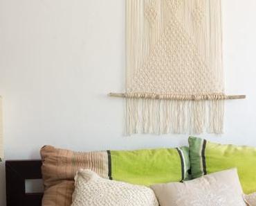 DIY | Boho Makramee Wandteppich