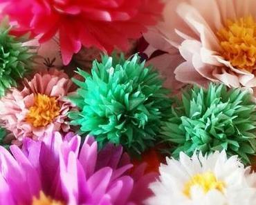 Riesen-Blumen-Deko