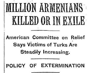 Argumentesammlung für einen gezielten Völkermord an den Armeniern
