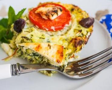 Zucchini- Auflauf – ein bisschen türkisch!