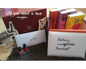 Die #lovelybox im Mai - All you need is love