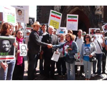 Hannover erlebt musikalische Karawane für die Menschenrechte im Iran