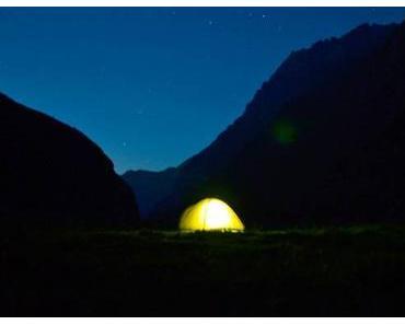 Schlafzimmer Berg: Wo du wild Zelten darfst