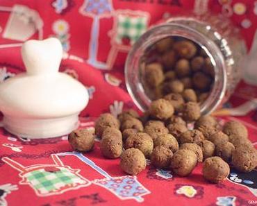 Rezept: Lungen-Apfel Kugeln für Hunde