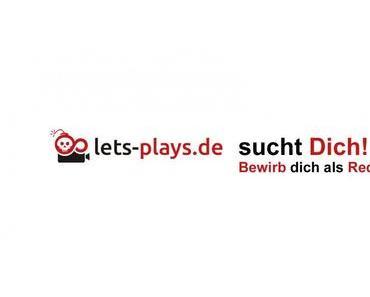 Redakteure für lets-plays.de gesucht!