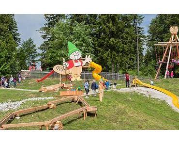 """Mariazeller Bürgeralpe eröffnete neuen Spielepark """"Biberwasser"""""""
