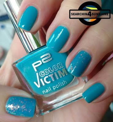 [Nails] Blue Friday mit p2 COLOR VICTIM 820 boat trip