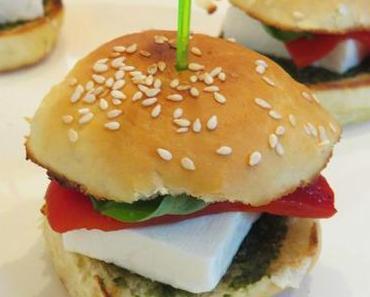 Mini-Burger – vegetarisch