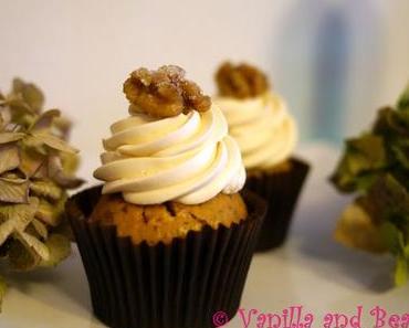 Walnut Cupcakes | Walnuss-Cupcakes