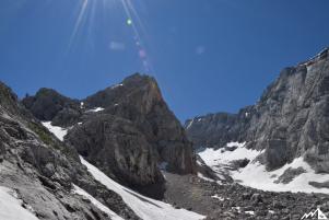 Schärtenspitze: Eis, Fels und Kuchen