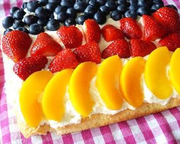 Rezept: Schland-Kuchen & Frucht-Spieße zur EM