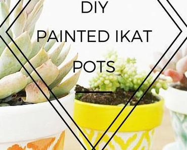 Inspiration - 13 frische DIY-Töpfe für deine Pflanzen und Sukkulenten