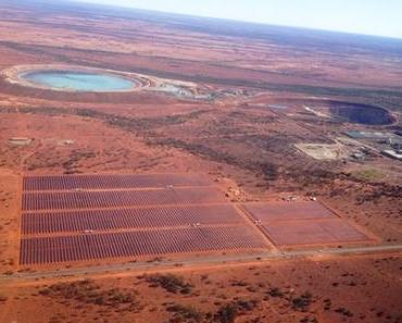 Größtes Solar-Hybrid-Kraftwerk der Welt in Australien errichtet