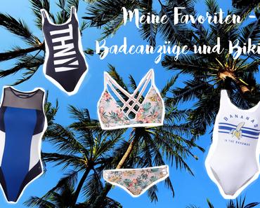 Meine Favoriten - Badeanzüge und Bikinis für 2016