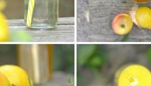 Rezept: titantinas Melissen- Apfelsaft