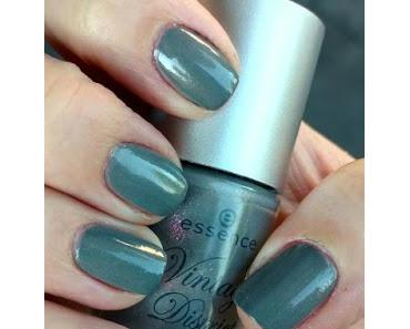 [Nails] Lacke in Farbe ... und bunt! GRAU mit essence Vintage District nail polish 04 GET ARTY