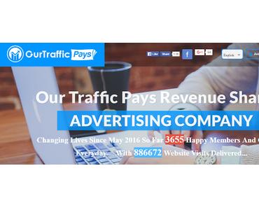 OurTrafficPays: Werbung schon ab $1