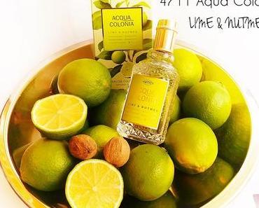 4711 Aqua Colonia - Lime & Nutmeg - Refreshing