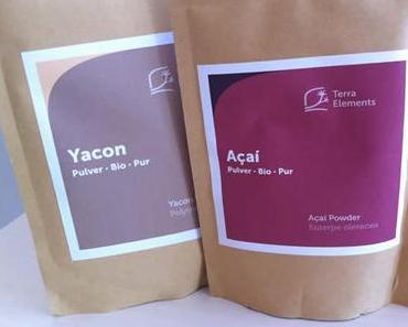 Getestet: Acai-Pulver & Yacon-Pulver