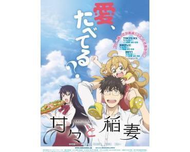 """""""Amaama to Inazuma"""" – Trailer mit deu. Untertitel von """"Crunchyroll"""" veröffentlicht"""