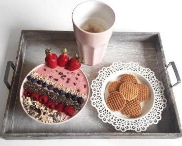 [Recipe] Strawberry-Oat-Bowl