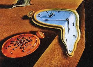 tik tak   Alles geht nach der Uhr   Allegorie von Irmela Wendt