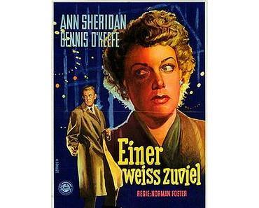 Movie-Magazin 6: Einer weiss zuviel – 1950
