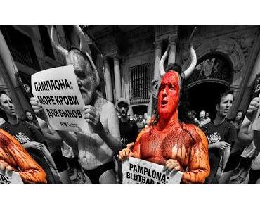 Pamplona: Das Fest das Abschlachtens von Stieren und der niederen Instinkte