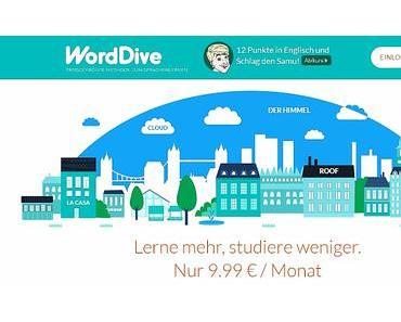 Jaimee lernt Spanisch mit WordDive inklusive Gewinnspiel