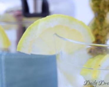Tea-infused Water – mein Sommerdrink