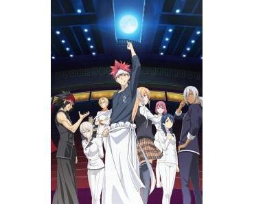 """Food Wars! – The Second Plate"" – ""Kazé"" lizenziert 2. Anime-Season"