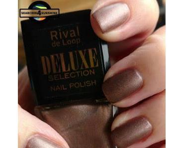 [Nails] Lacke in Farbe ... und bunt! KUPFER mit Rival de Loop DELUXE SELECTION 02 COPPER BLAZE - totaler Fail?!