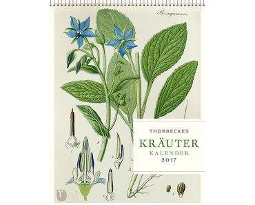thorbeckes kräuterkalender 2017