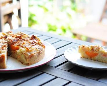 Marillenkuchen mit Mandelkruste