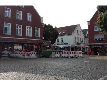 Foto: Der Lüdinghauser Marktplatz wird umgestaltet