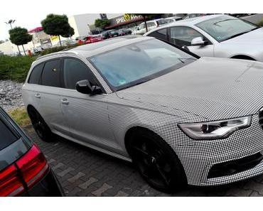 Foto: Ein Audi in Pfeffer und Salz