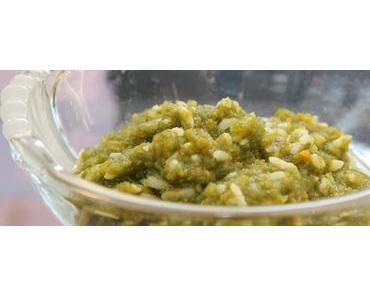 Babybrei / Spinat-Gemüsebrei mit Naturreis