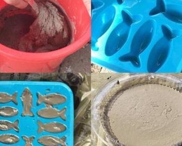 Hier schwimmen die Beton-Fische – oder – Neues aus Betonia