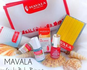Mavala - Swiss Graphic Pouch - gefülltes Reisetäschchen