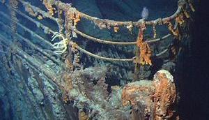 """dramatische Untergang """"Titanic"""" Echtzeit ohne Jack Rose"""