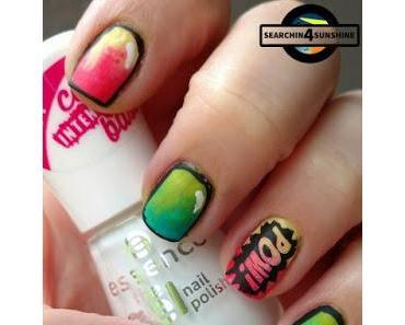 [Nails] NailArt-Dienstag: Pop Art mit einer bunten Mischung an Nagellacken