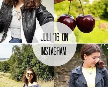 Der Monat Juli in Instagram-Bildern